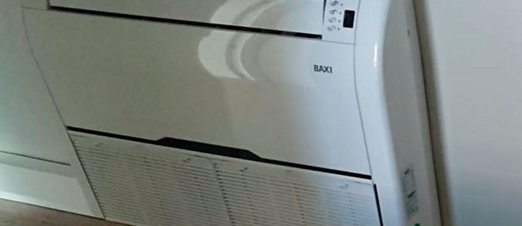 cambio caldera y aire acondicionado Baxi