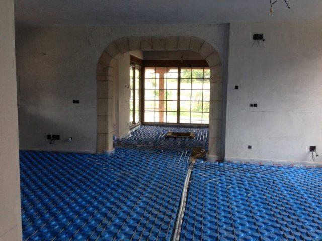 instalación y mantenimiento suelo radiante