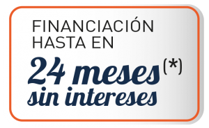 Financiación hasta 24 meses sin intereses