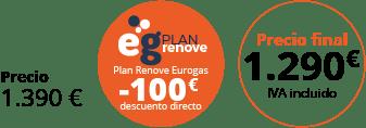 Precio Plan Renove 1290€
